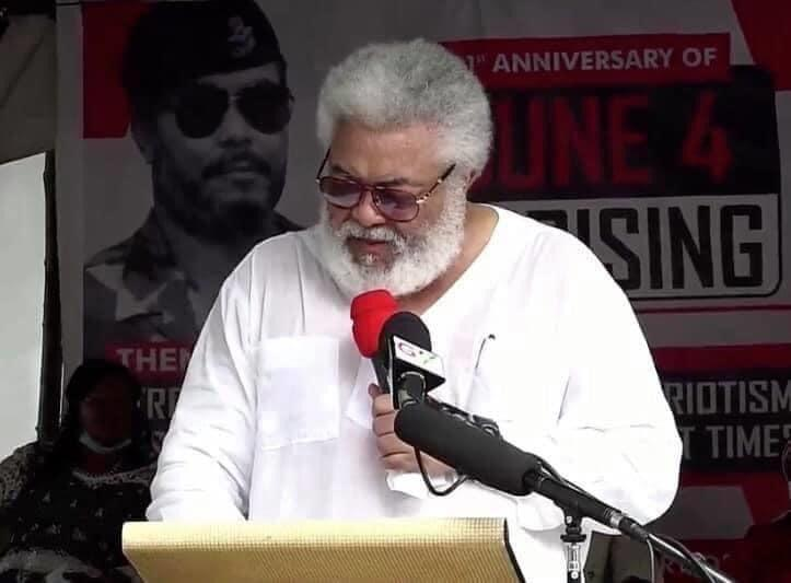 Photo: Check Out New Look of Former President J.J Rawlings That Has Got People Talking 1