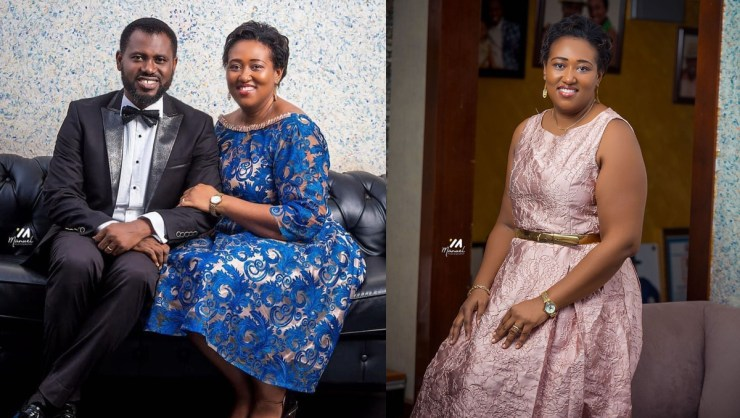 Media Personality, Abeiku Santana Shows off His Wife For The First ...
