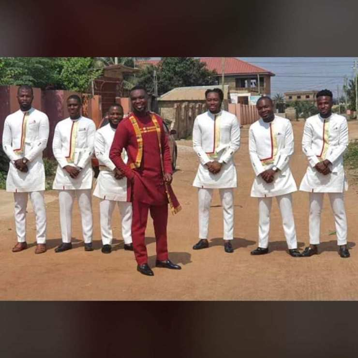 First Photos of Joe Mettle's Ongoing Traditional Marriage Hits Online 7