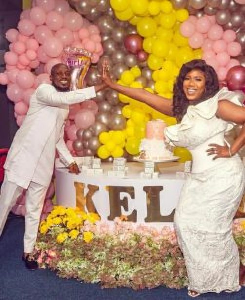 See The Adorable Photos From The Naming Ceremony of Victoria Lebene And Ghanaian Celebrity Blogger Eugene Osafo Nkansah's Baby Girl. 18