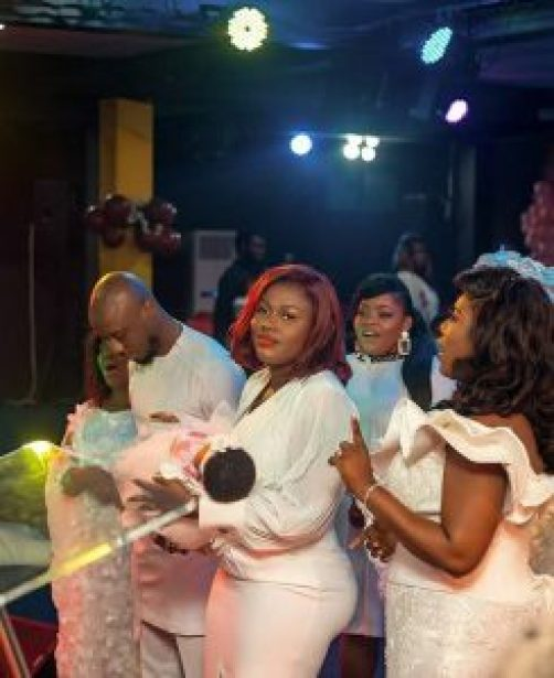 See The Adorable Photos From The Naming Ceremony of Victoria Lebene And Ghanaian Celebrity Blogger Eugene Osafo Nkansah's Baby Girl. 16