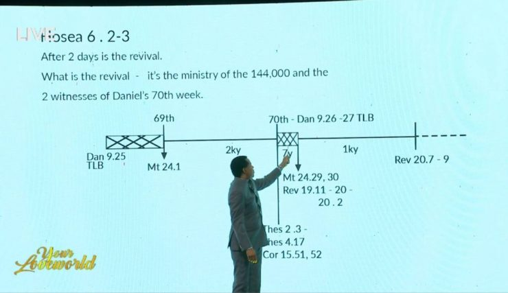 Pastor Chris calculates and reveals the date of rapture- See photos/video. 6