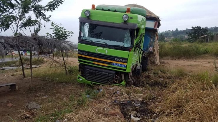 11 Dead And Over 80 Passengers Seriously Injured As Cargo Truck Crashes Into 2 Buses At Kyekyewere Whilst On Their Way To Accra (Photos) 22