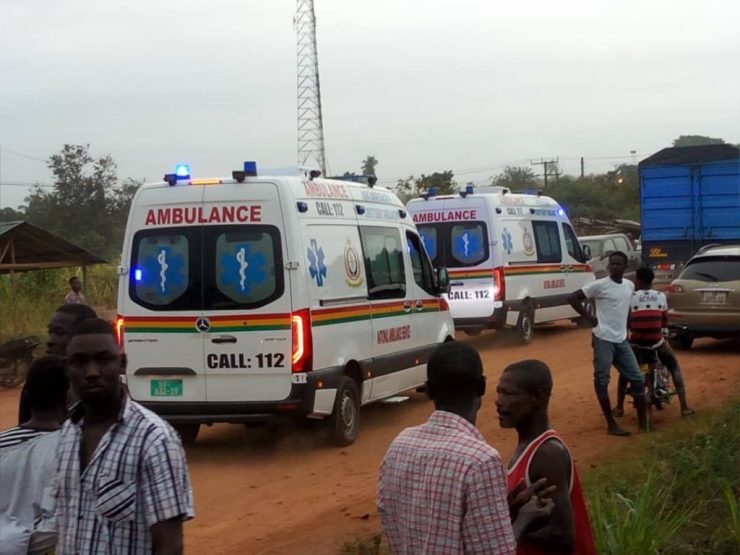 11 Dead And Over 80 Passengers Seriously Injured As Cargo Truck Crashes Into 2 Buses At Kyekyewere Whilst On Their Way To Accra (Photos) 25