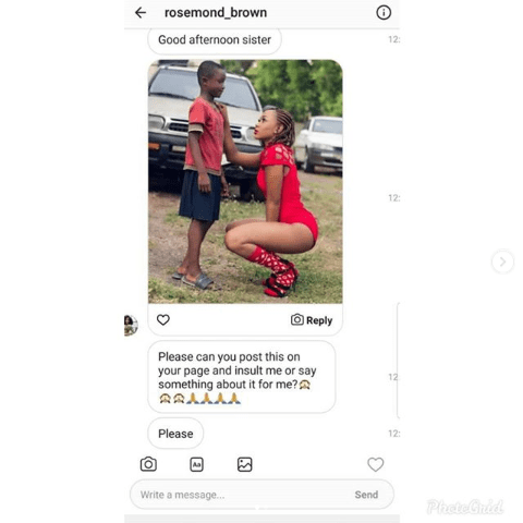 Afia Schwarzenegger Disgraces Akuapem Poloo For Snitching Her On To Pinamang Cosmetics. 9