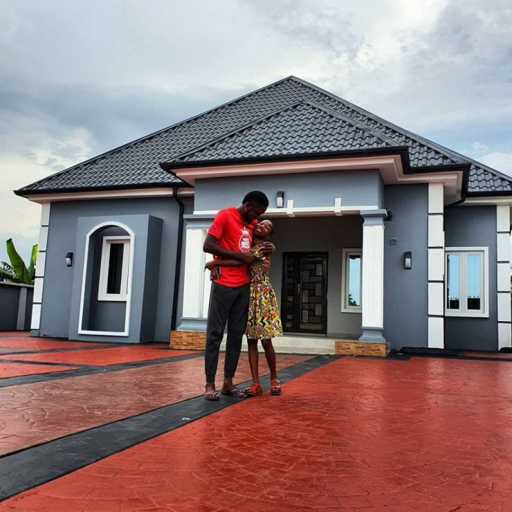 See The Multimillion Naira Mansion 10-Year-Old Comedienne Emmanuella Builds House For Her Mother. 23