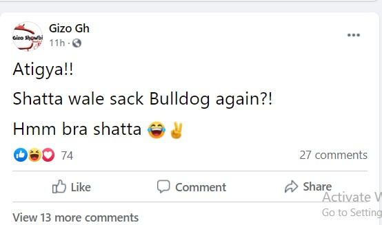 Shatta Wale Allegedly Sacks Bulldog From His Camp 2
