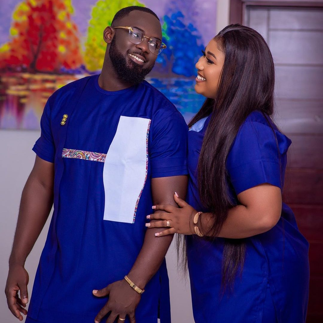 Xandy Kamel And Her Husband Marks 1st Wedding Anniversary With Cute Photos 3