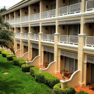 Balconies at Sofitel Phokeethra Krabi Golf and Spa Resort