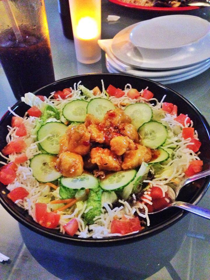 Spicy Chicken Salad, Pei Wei