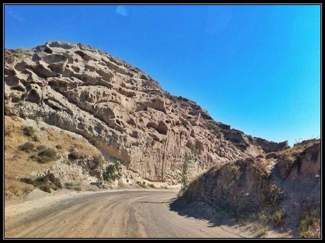 The Road To Eros Beach
