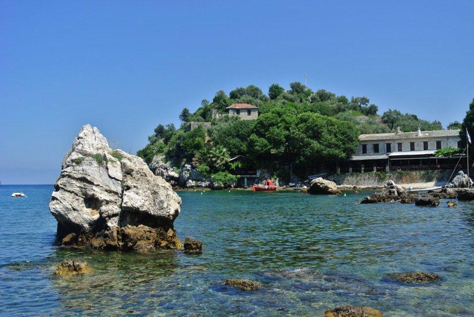 Damouchari Beach, Pelion, Greece