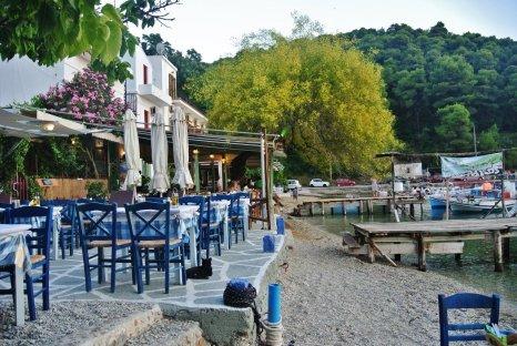 Agnontas Beach, Skopelos, Greece