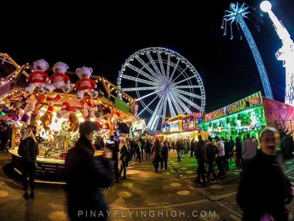 Christmas In London Hyde Park Winter Wonderland The Grandest Of - Winter wonderland london map 2016