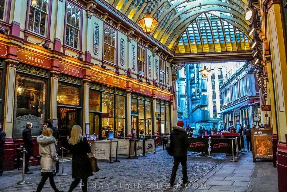 Leadenhall Market, London - PinayFlyingHigh.com