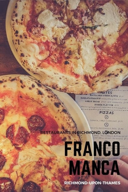 Restaurants in Richmond-Upon-Thames, London: Franco Manca