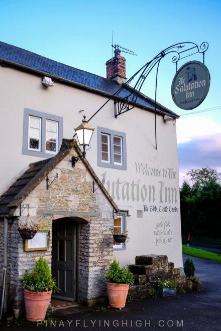 Salutation Inn in Castle Combe
