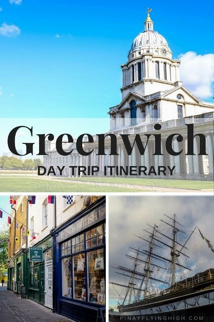 Greenwich day trip itinerary