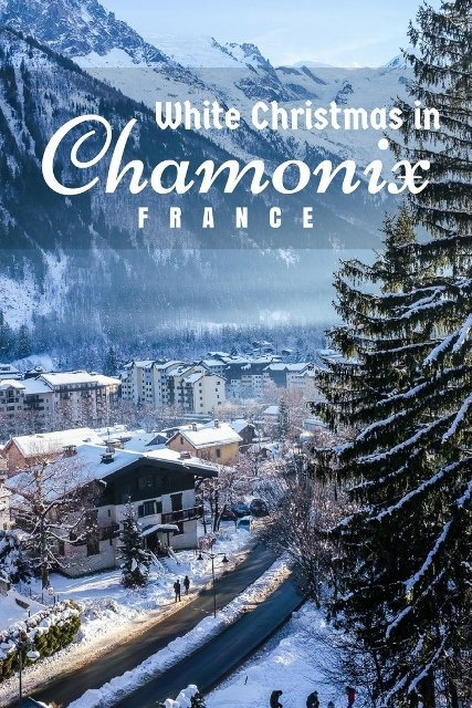 My white Christmas dream was fulfilled in the beautiful Chamonix, the best Christmas ever! :)