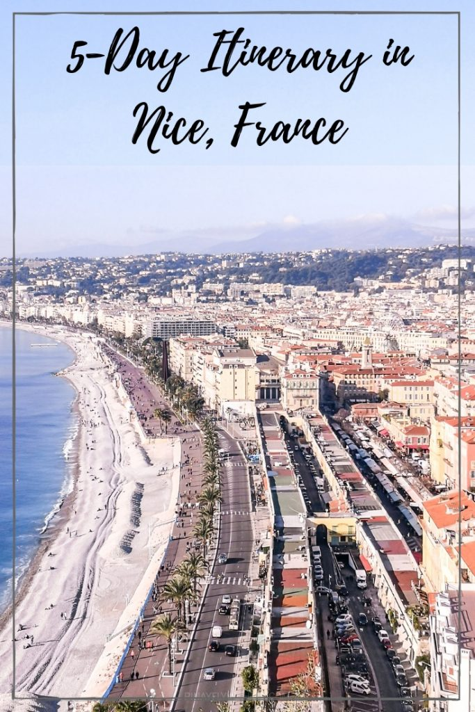 5 Days in Nice, France Itinerary