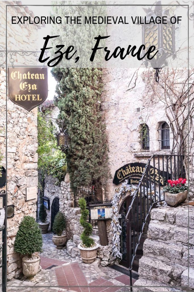 Exploring the beautiful Medieval village of Eze, France