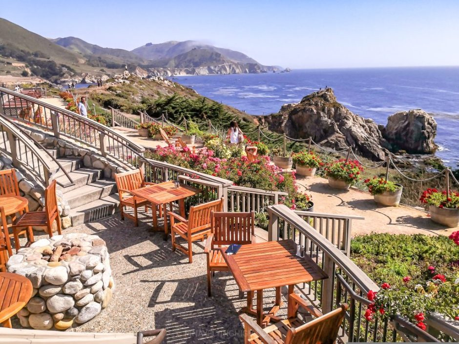 Rocky Point Restaurant, Big Sur, California