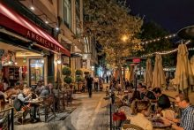 Santana Row, San Jose, California, USA
