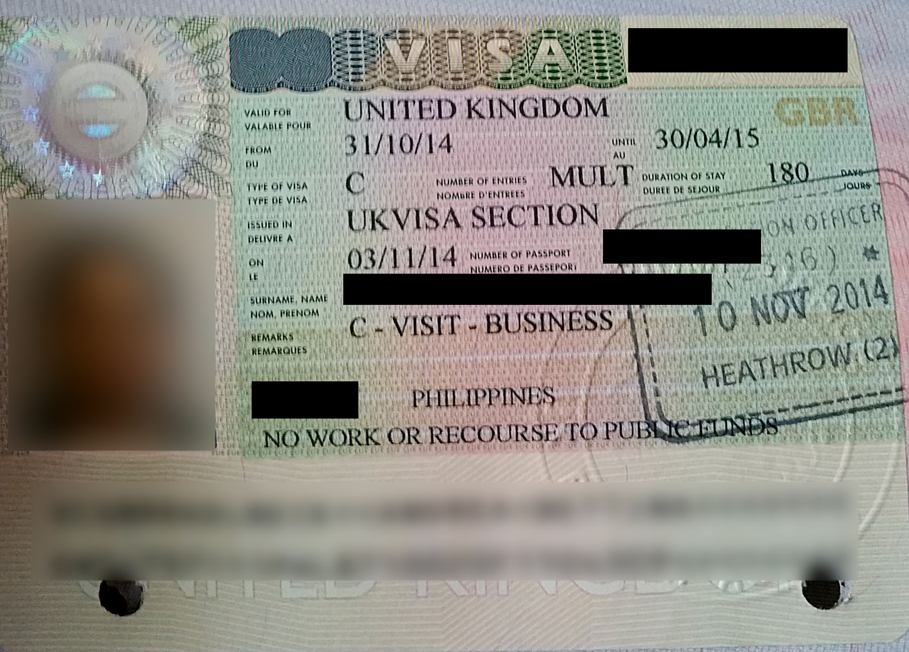 applying for a uk visa from germany