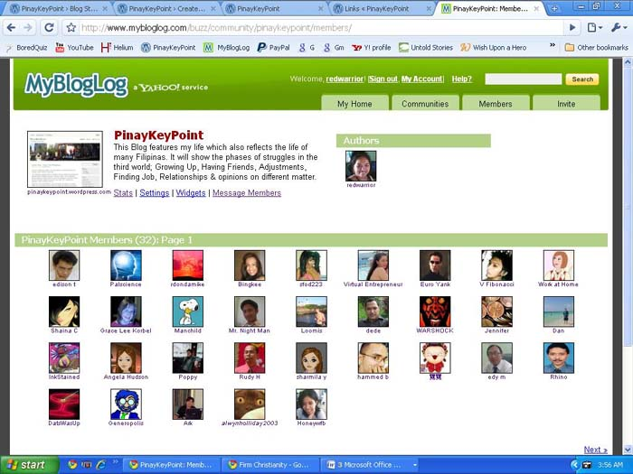 mybloglog-community-members