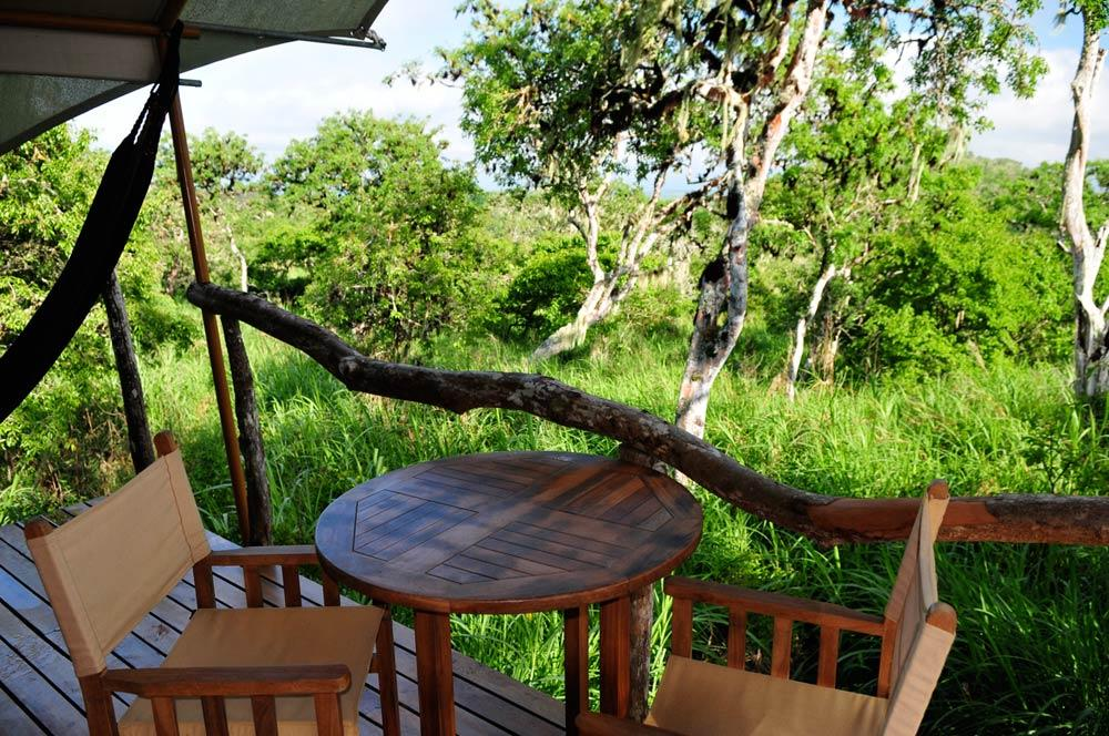 galapagos safari camp 3 Tent-Balcony