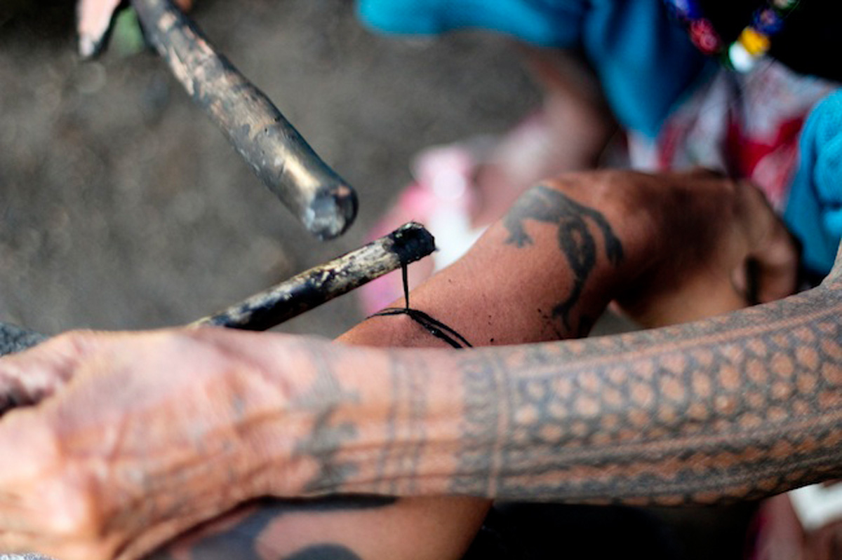 Getting Inked by Whang Od