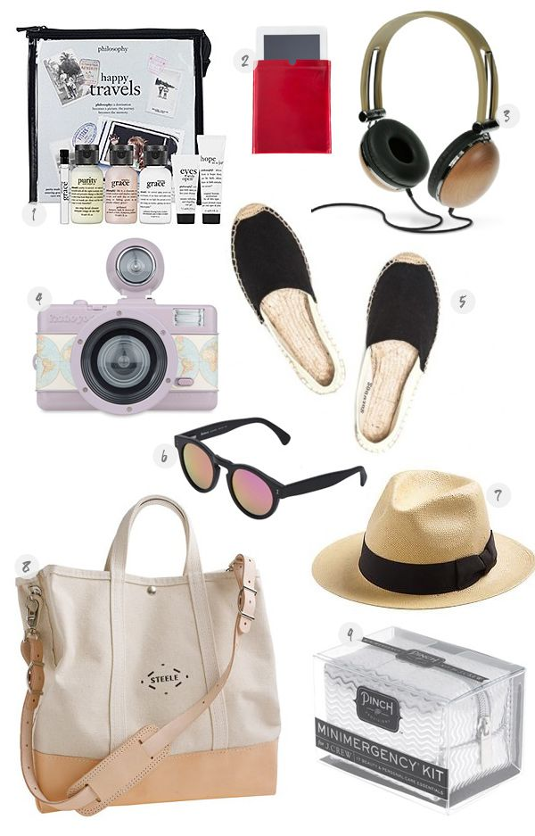 laidback travel essentials