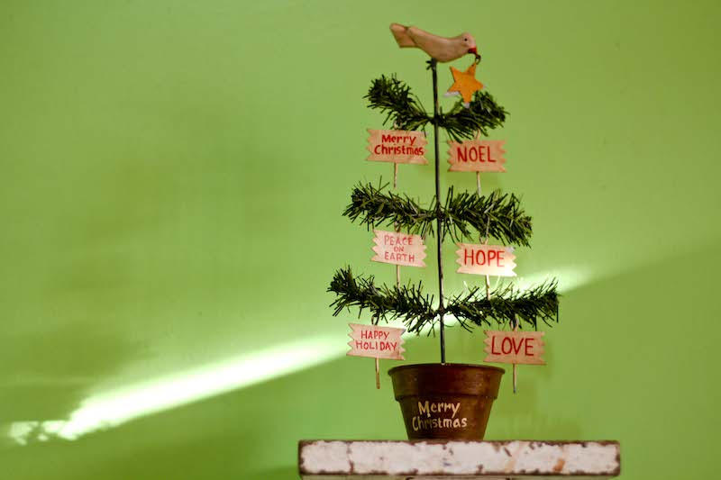 my merry xmas tree