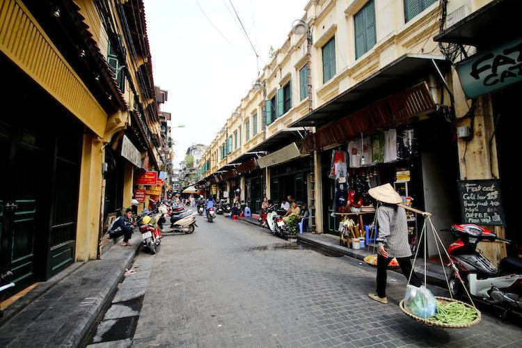 Hanoi Top 10 backpackers street pinaytraveller