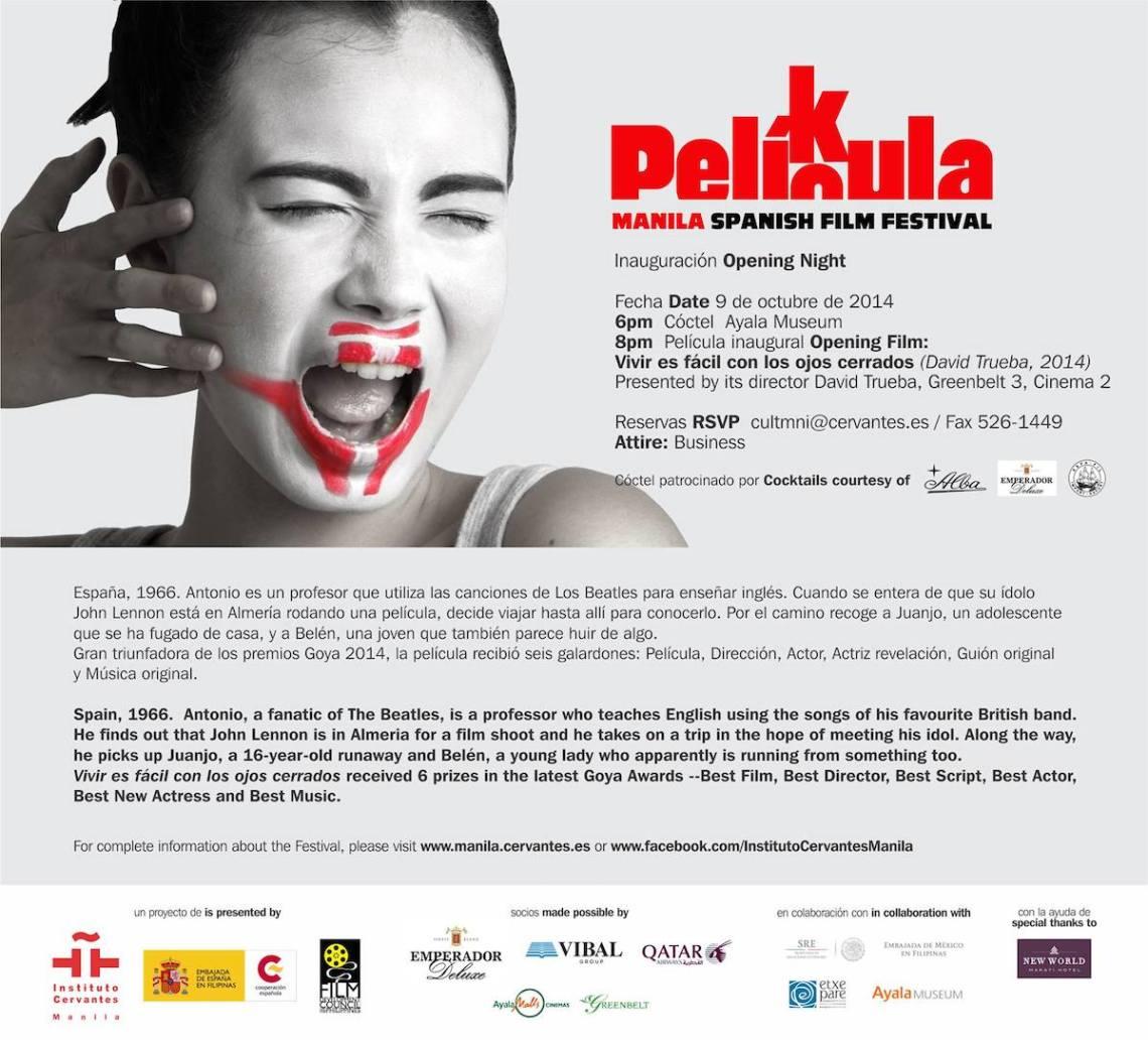 PinayTraveller Manila Spanish Film Festival 2014