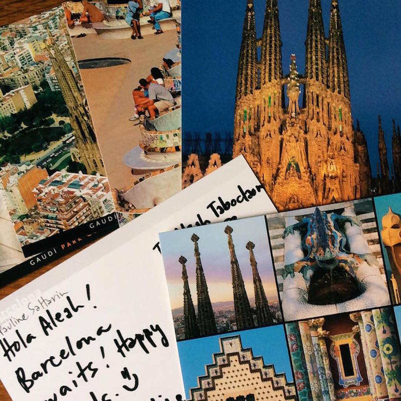 PinayTraveller postcards from Spain