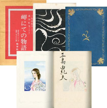 Mishima sur un promontoire