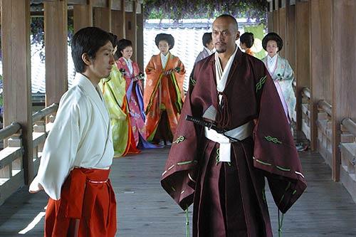 """""""Dernier samouraï"""" (à droite)"""