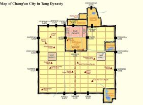 Plan en damier de Chang'an