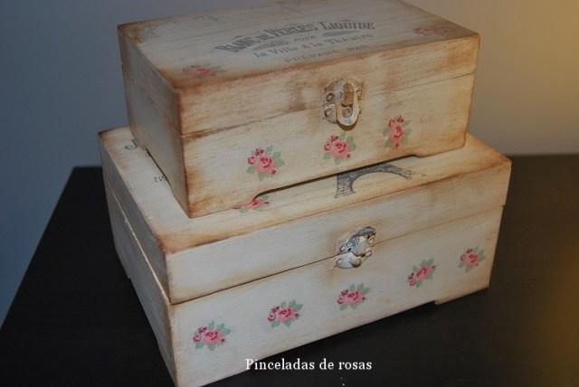 Cajas Vintage con transferencias (8)
