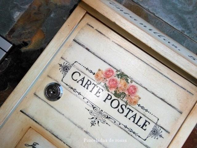 Mis trabajos pinceladas de rosas part 2 - Buzon vintage ...