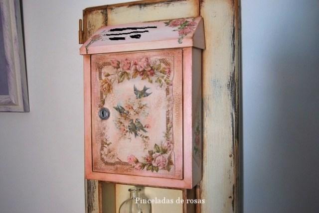 Buzón-clásico-estilo-Vintage-reciclado