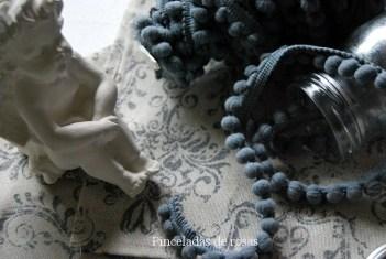 Telas… costuras… madroño... Vintage