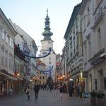 Diario Bratislava - Diciembre 2016: Castillo, Catedral de San Martín, Ópera, Ayuntamiento, Puerta de San Miguel