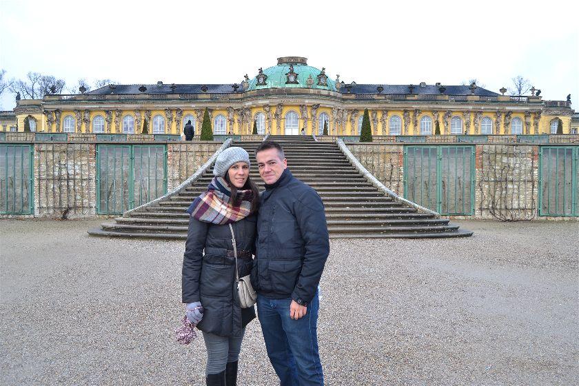 Palacio Sansoucci, Potsdam, Alemania