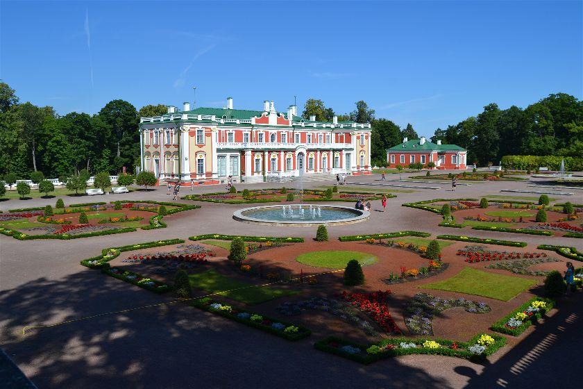 Palacio Kadriorg, Tallin, Estonia