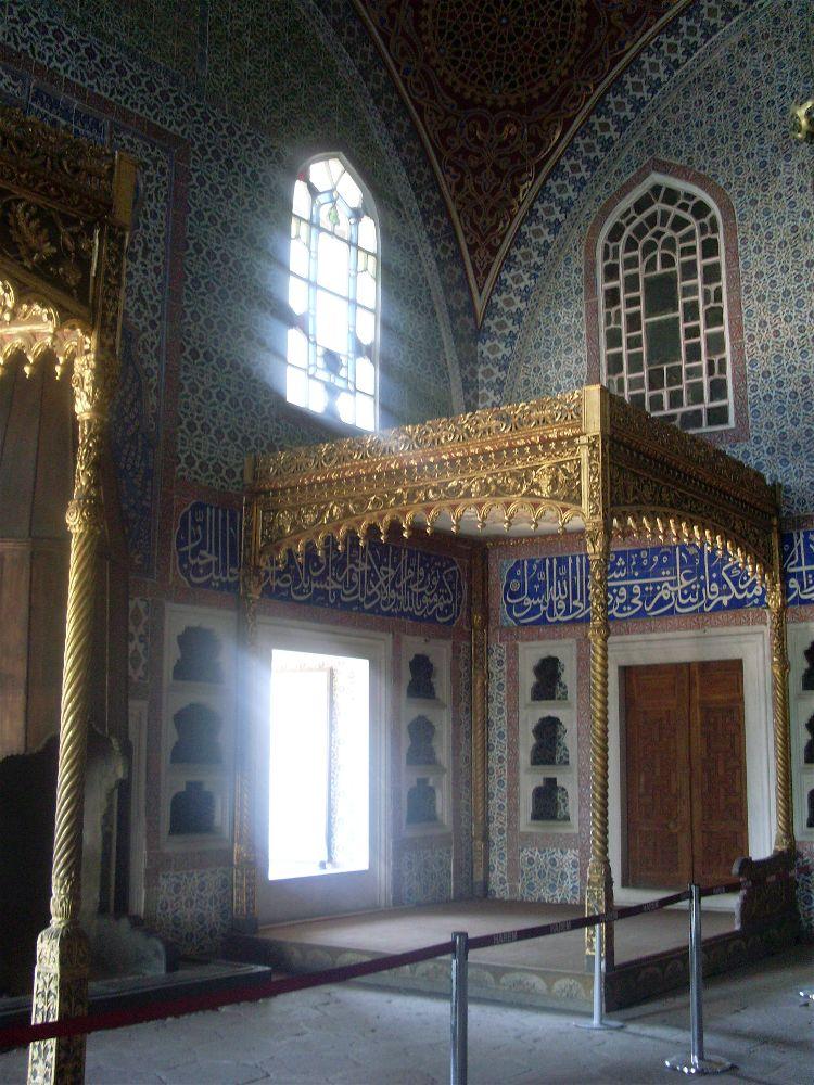 Palacio Topkapi, Estambul, Turquía