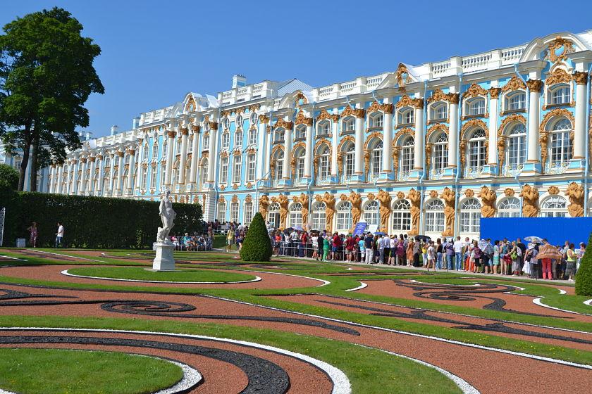 Palacio de Catalina, Pushkin, Rusia