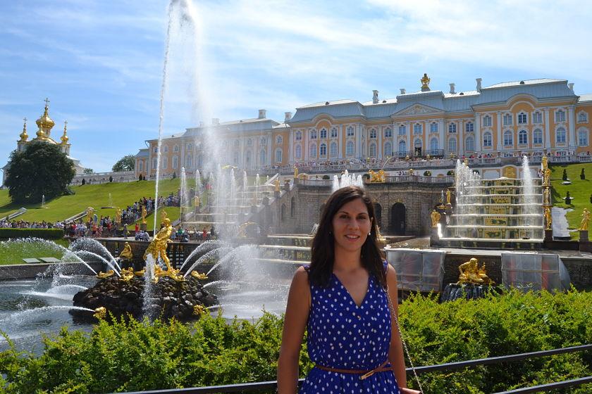 Palacio de Peterhof, Peterhof, Rusia