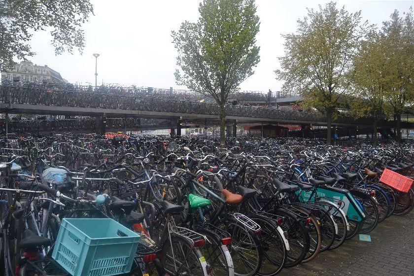Parking Bicicletas, Amsterdam, Paises Bajos